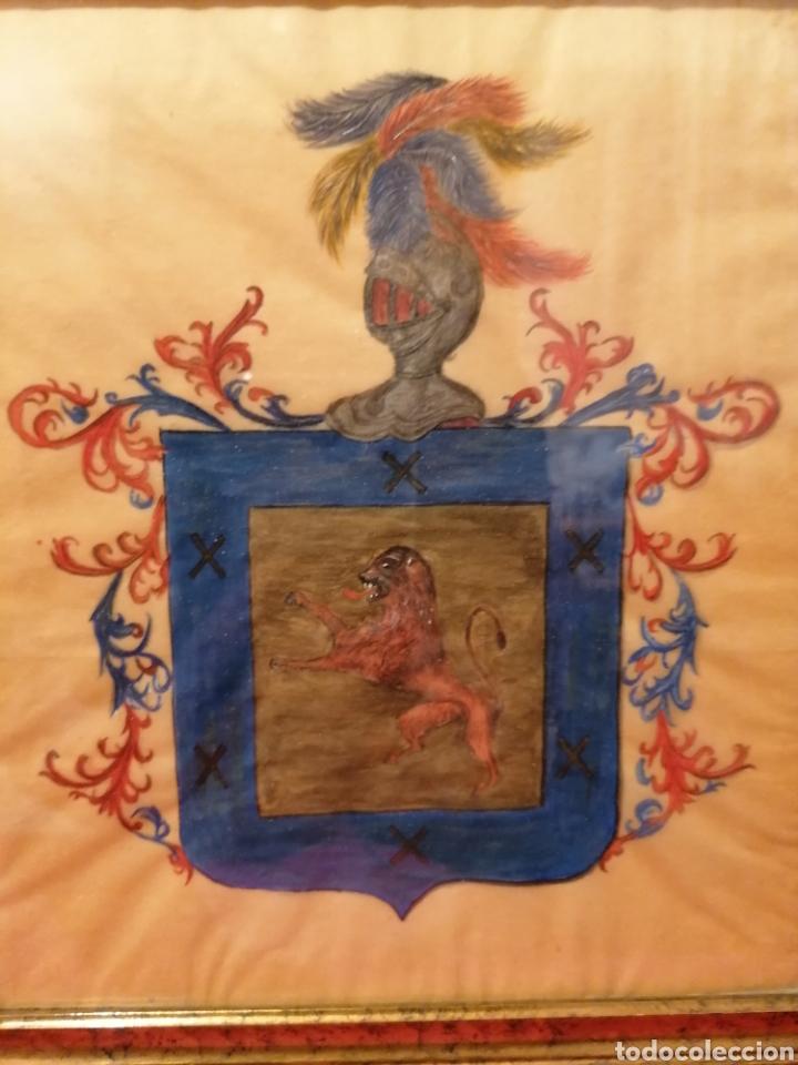 Arte: ESCUDO DEL APELLIDO ARIZMENDI. SIGLO XVII-XVIII - Foto 2 - 183411896