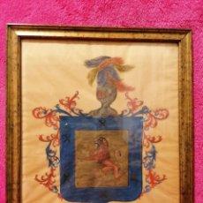 Arte: ESCUDO DEL APELLIDO ARIZMENDI. SIGLO XVII-XVIII. Lote 183411896