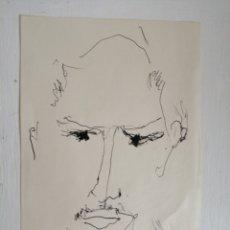 Arte: GINO HOLLANDER. DIBUJO SOBRE PAPEL DE 1963.. Lote 183551320