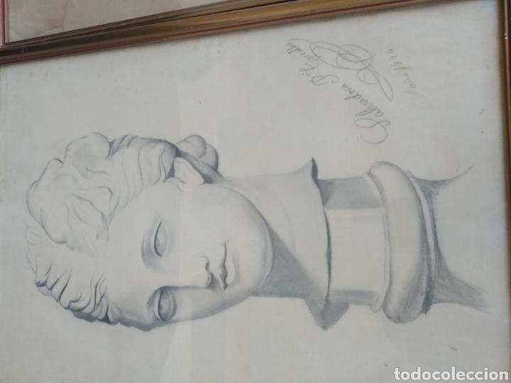 Arte: DIBUJOS AÑO 1896. SALVADORA PEREZ TORRALBA - Foto 2 - 183696416
