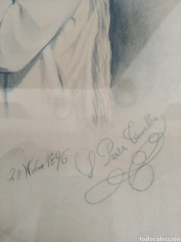 Arte: DIBUJOS AÑO 1896. SALVADORA PEREZ TORRALBA - Foto 4 - 183696416