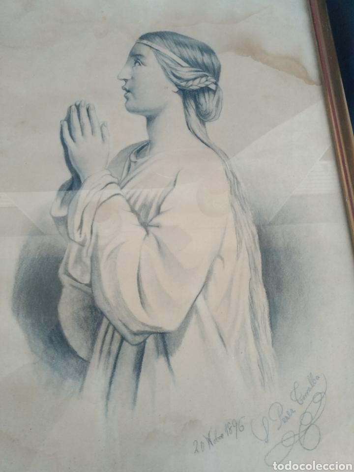 Arte: DIBUJOS AÑO 1896. SALVADORA PEREZ TORRALBA - Foto 7 - 183696416