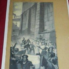 Arte: (M) DIBUJO ILUSTRACIÓN DE LUIS GARCIA SAMPEDRO, ILUSTRACION TRADICIONES DE TOLEDO. Lote 183702631