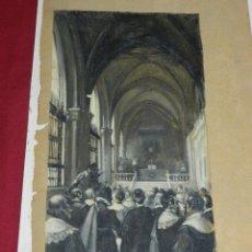 Arte: (M) DIBUJO ILUSTRACIÓN DE LUIS GARCIA SAMPEDRO, ILUSTRACION TRADICIONES DE TOLEDO. Lote 183702825