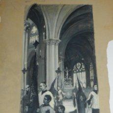 Arte: (M) DIBUJO ILUSTRACIÓN DE LUIS GARCIA SAMPEDRO, ILUSTRACION TRADICIONES DE TOLEDO. Lote 183702941