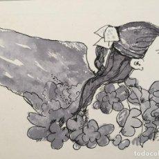 Arte: BOADA, ILUSTRACIÓN ORIGINAL 1972, CATALOGADA. . Lote 183724798