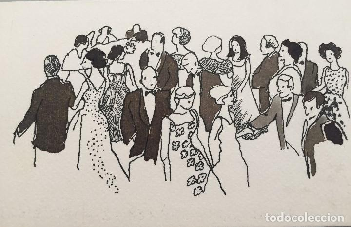 BOADA, ILUSTRACIÓN ORIGINAL 1972, CATALOGADA. (Arte - Dibujos - Contemporáneos siglo XX)