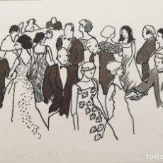 Arte: BOADA, ILUSTRACIÓN ORIGINAL 1972, CATALOGADA. . Lote 183781978