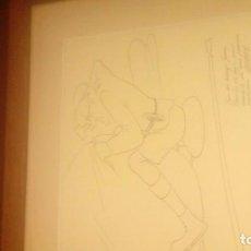 Arte: ENRIQUE HERREROS (1903-1977) PERSONAJE DIBUJO. Lote 183715395