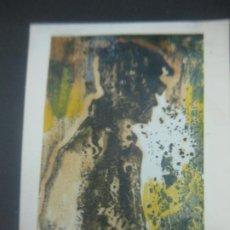 Arte: DIBUJO ORIGINAL DE PEDRO MARCOS BUSTAMANTE (BILBAO 1921 - CADIZ 2001) EN FELICITACION NAVIDEÑA 1990. Lote 184086280