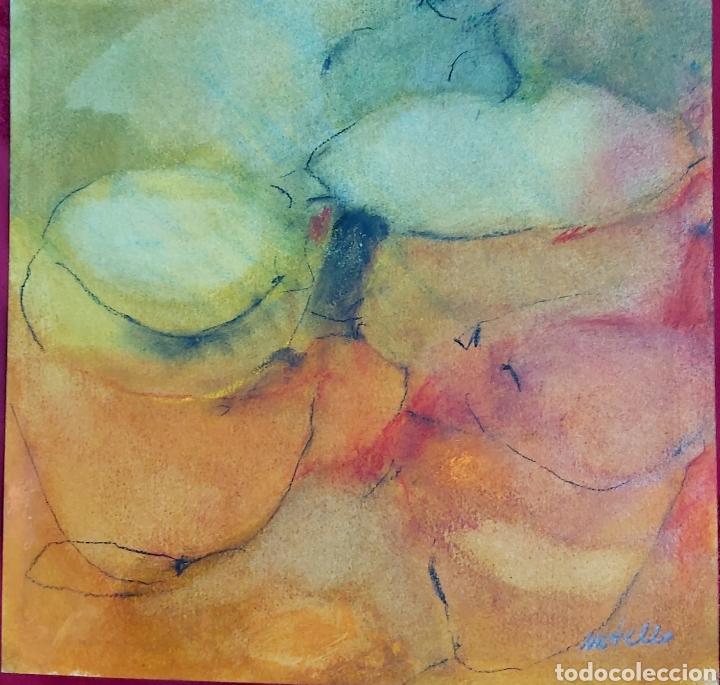 TECNICA MIXTA FIRMA ILEGIBLE (Arte - Dibujos - Contemporáneos siglo XX)