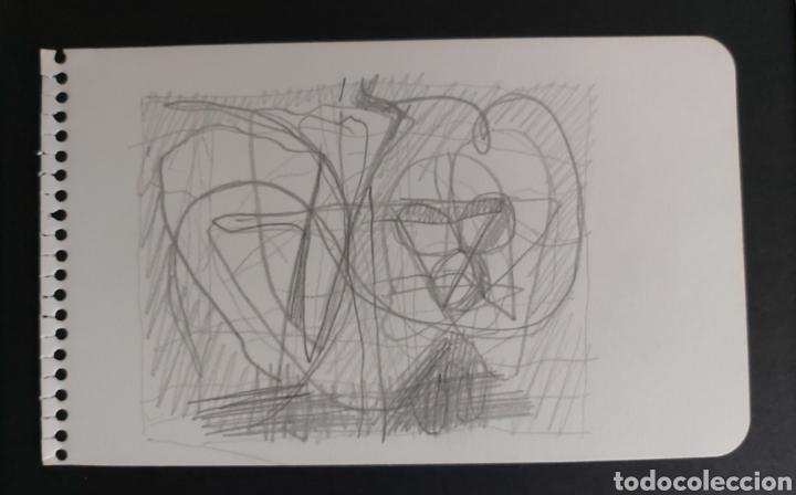 RAFOLS CASAMADA DIBUJO A LAPIZ CON CERTIFICADO DE AUTENTICIDAD (Arte - Dibujos - Contemporáneos siglo XX)