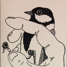 Arte: DIBUJO A LA TINTA 23,5X 8 CMS. (MONNERAT, SUIZA1917-ESPAÑA2006). Lote 184570212