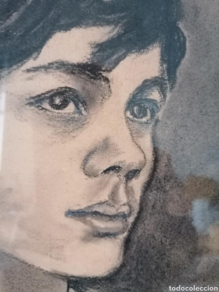 Arte: Dibujo retrato Daniel levillon Paris XIX - Foto 4 - 184584186
