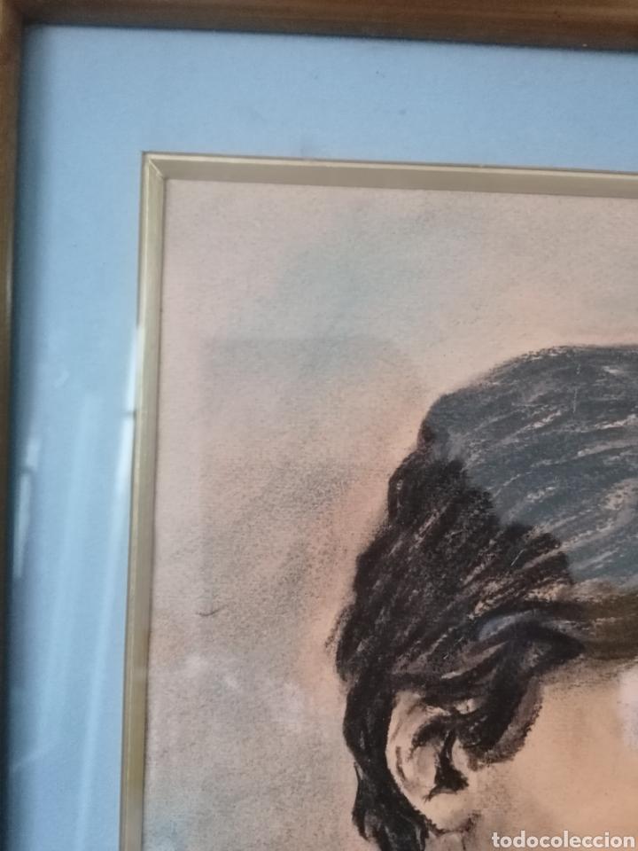 Arte: Dibujo retrato Daniel levillon Paris XIX - Foto 5 - 184584186