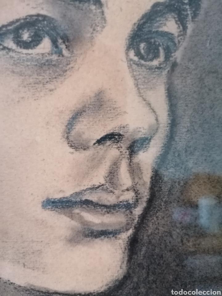 Arte: Dibujo retrato Daniel levillon Paris XIX - Foto 6 - 184584186