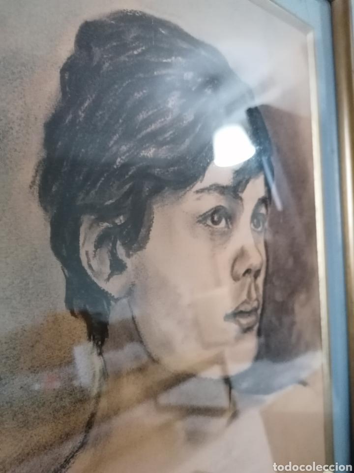 Arte: Dibujo retrato Daniel levillon Paris XIX - Foto 11 - 184584186