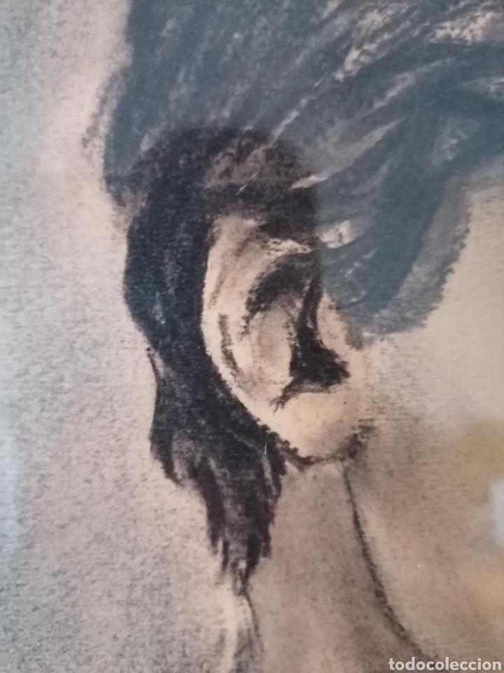 Arte: Dibujo retrato Daniel levillon Paris XIX - Foto 13 - 184584186