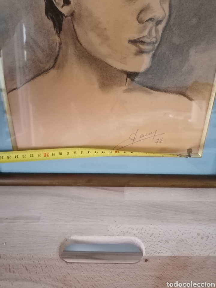 Arte: Dibujo retrato Daniel levillon Paris XIX - Foto 15 - 184584186