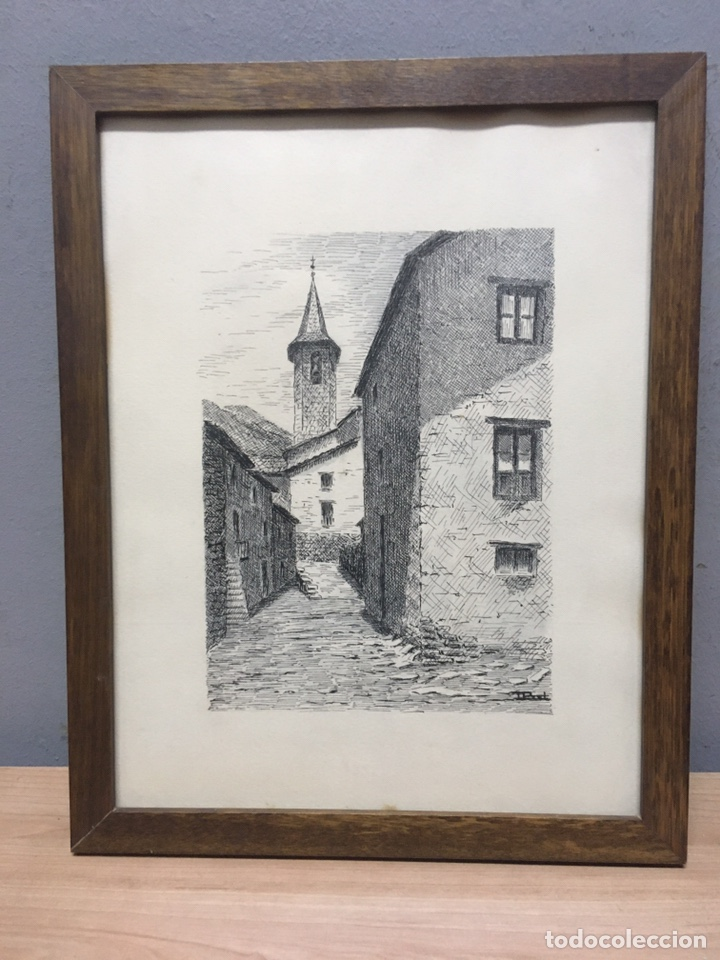 Arte: Dibujo firmado - Foto 2 - 184693540