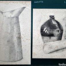 Arte: 2 DIBUJOS 1914 . LILLIAN LINIKER ( ESCUELA INGLESA ). Lote 184833888