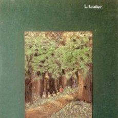 Arte: DIBUJO A COLOR 1914 . LILLIAN LINIKER ( ESCUELA INGLESA ). Lote 184836337