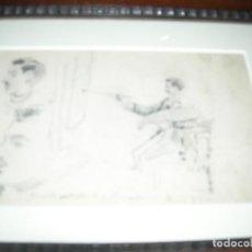 Arte: 2 EXCELENTES DIBUJOS DE SERRA PORSON. Lote 184907505
