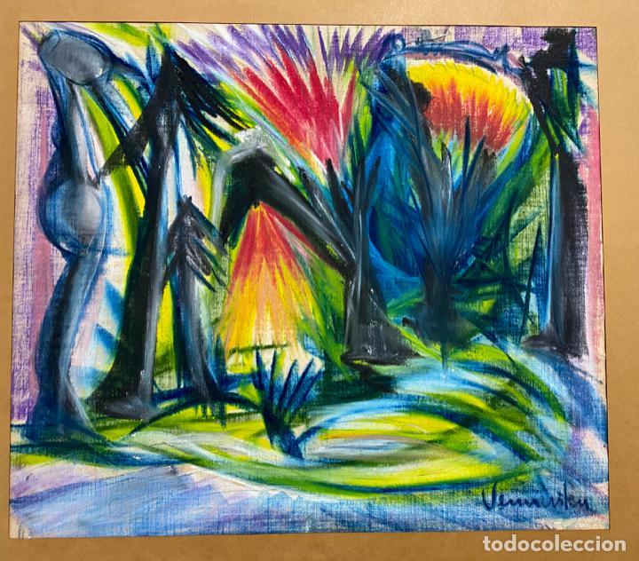 Arte: PINTURA SOBRE TELA . ORIGINAL , FIRMADA - Foto 5 - 145589262