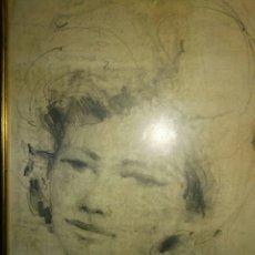 Arte: DIBUJO ANTIGUO A LAPIZ. Lote 185949088