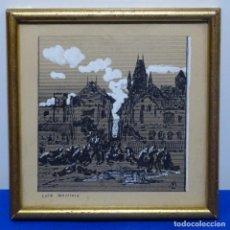 Arte: DIBUJO A TINTA DE LUIS MASRIERA I ROSES(1875-1958).. Lote 186023537