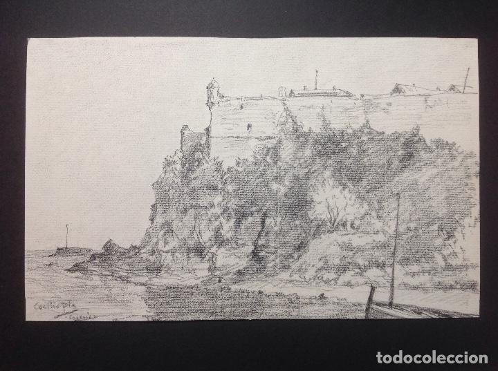 CECILIA PLA. LA FORTALEZA. (Arte - Dibujos - Modernos siglo XIX)