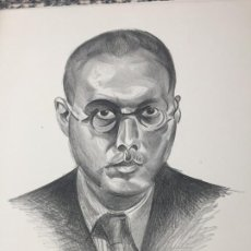Arte: THIRTY PERSONALITIES AND A SELF-PORTRAIT, WYNDHAM LEWIS 1ST EDITION FIRMADO Nº 41. Lote 186134927