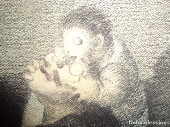Arte: AUTOR. RAMON CALSINA AÑO 1931 TITULO: EL VIUDO DE LA MODISTA. TAMAÑO 47X61 CTMS DIBUJO A LAPIZ - Foto 11 - 186227792