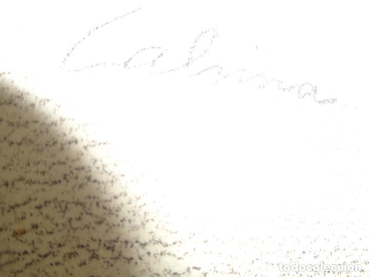 Arte: AUTOR. RAMON CALSINA AÑO 1931 TITULO: EL VIUDO DE LA MODISTA. TAMAÑO 47X61 CTMS DIBUJO A LAPIZ - Foto 13 - 186227792
