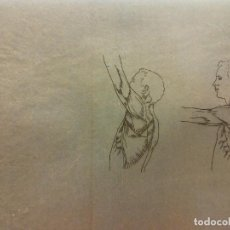 Arte: LÁMINAS ANATOMÍA HUMANA. MEDIDAS 15 X 21. Lote 189617890