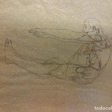 Arte: LÁMINAS ANATOMÍA HUMANA. DÍPTICO. MEDIDAS 28 X 21. Lote 189618128