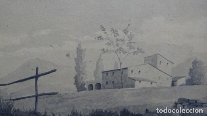 Arte: Acuarela y dibujo firmado j. Costa i vila. - Foto 3 - 189677855