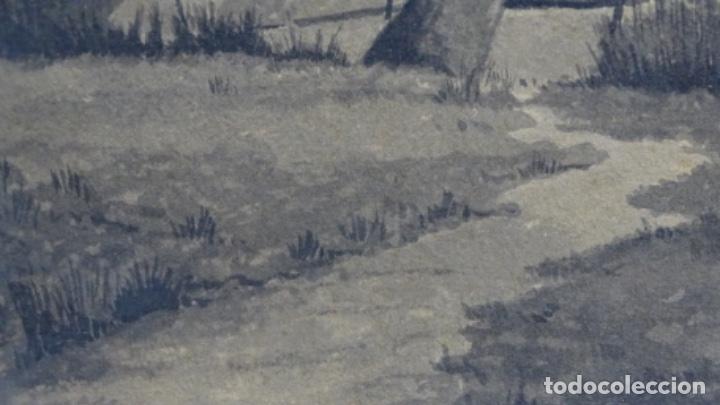 Arte: Acuarela y dibujo firmado j. Costa i vila. - Foto 7 - 189677855