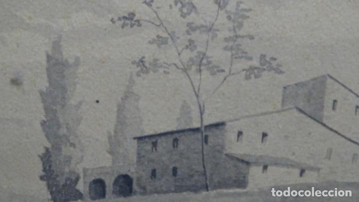 Arte: Acuarela y dibujo firmado j. Costa i vila. - Foto 8 - 189677855