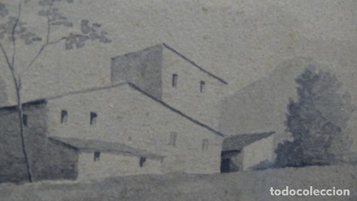 Arte: Acuarela y dibujo firmado j. Costa i vila. - Foto 11 - 189677855