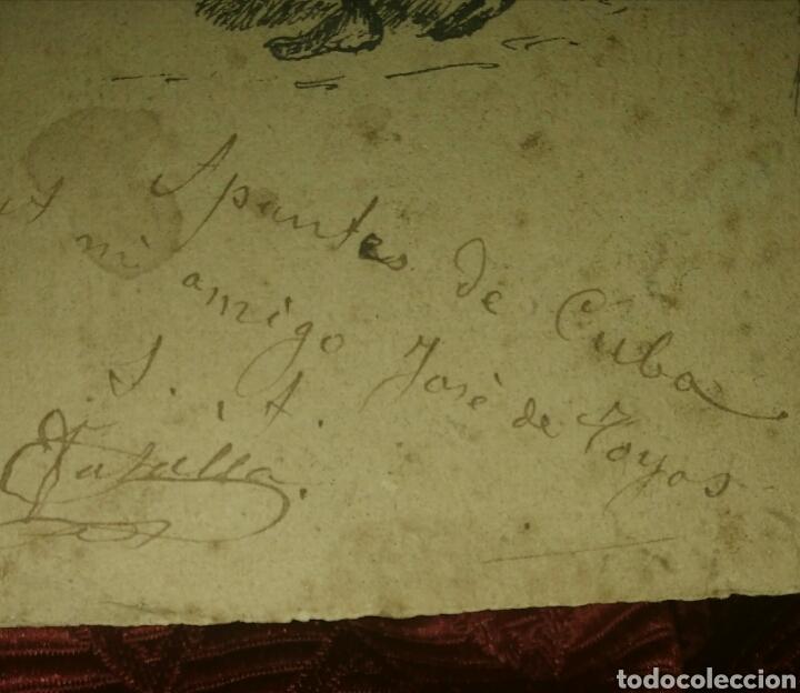 Arte: Apuntes de Cuba de Eduardo Vasallo y Dorronzoro, siglo XIX. - Foto 4 - 189711462