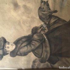 Arte: DIBUJO CON MARCO ANTIGUO . Lote 190115791