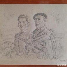 Arte: BERNARDINO BIENABE-ARTIA. PERSONAJES.. Lote 190528551