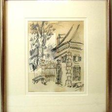 Arte: DIBUJO CARLOS NADAL AÑO 91. Lote 190823763