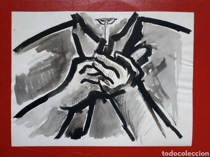 DIBUJO ORIGINAL A TINTA CHINA (Arte - Dibujos - Contemporáneos siglo XX)
