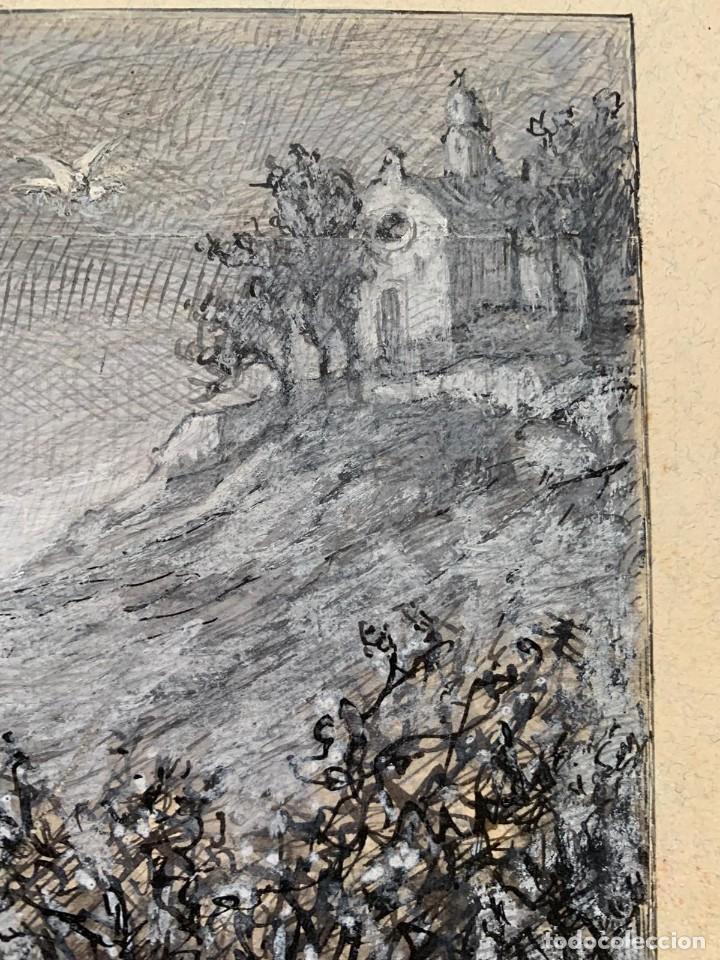 Arte: JOSE SERRA Y PORSON - DETRÁS DE LA CRUZ EL DIABLO - Foto 5 - 190871895