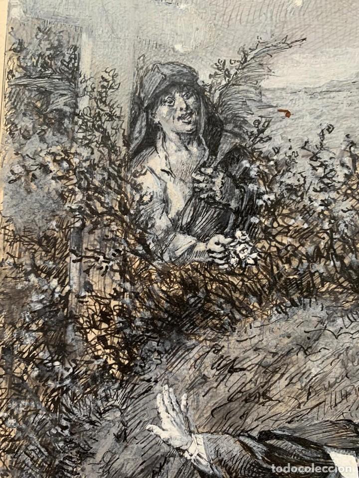 Arte: JOSE SERRA Y PORSON - DETRÁS DE LA CRUZ EL DIABLO - Foto 6 - 190871895
