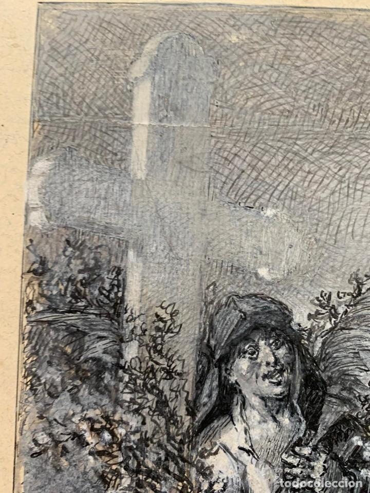 Arte: JOSE SERRA Y PORSON - DETRÁS DE LA CRUZ EL DIABLO - Foto 7 - 190871895