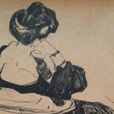 Arte: LITOGRAFÍA MODERNISTA XAVIER GOSÉ. Lote 191178790
