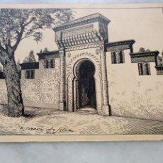 Arte: DIBUJO A PLUMILLA. ALCAZARQUIVIL. Lote 191289463
